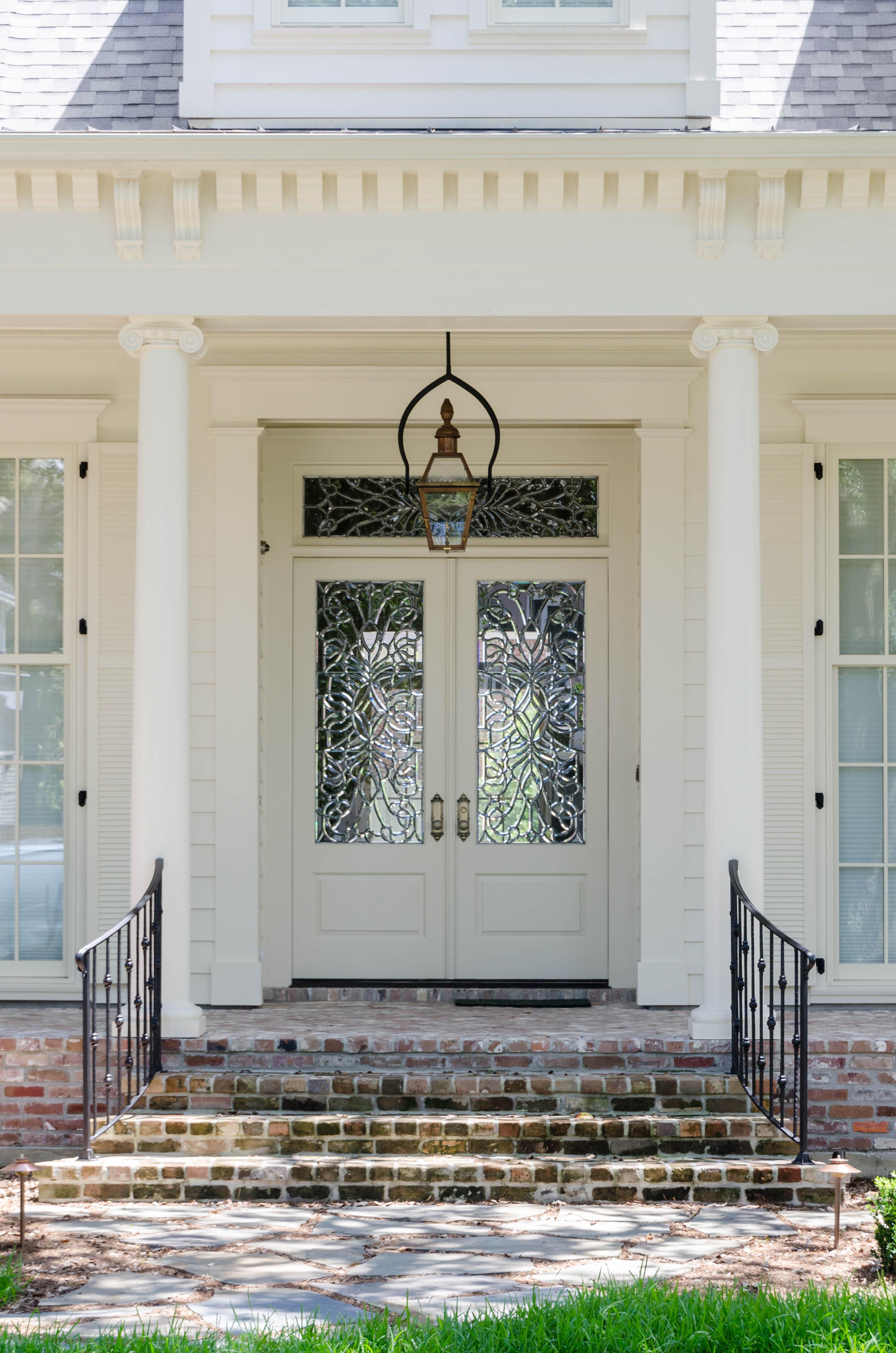 Southern Colonial Jefferson Door Jefferson Door