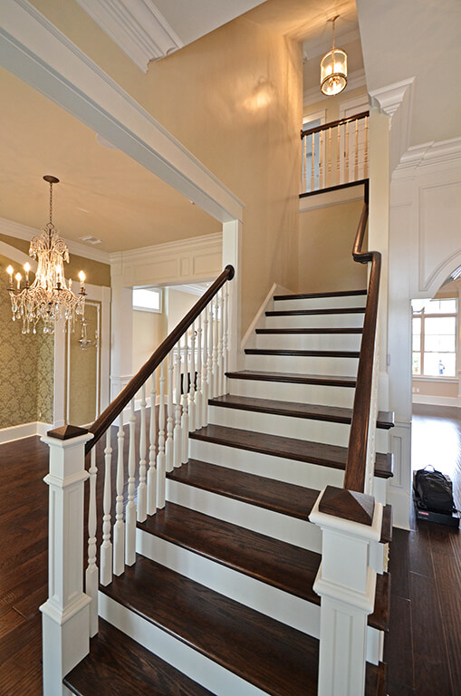 Stair Parts Oak Hemlock Maple Mahogany Iron
